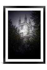 Cathedral, Framed Mounted Print