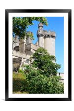 Arundel Castle and Grounds, Framed Mounted Print