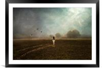 Shes Coming to get you!, Framed Mounted Print