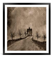Road To Nowhere, Framed Mounted Print