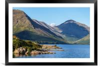 Wast water Cumbria, Framed Mounted Print