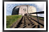 York Castle, Framed Mounted Print