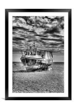 FE92 Dungeness Boat, Framed Mounted Print