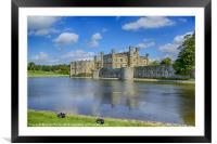 Leeds Castle Moat 2, Framed Mounted Print