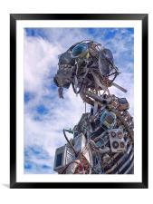 WEEE Man, Framed Mounted Print