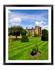 The Pig and Castle, Framed Mounted Print