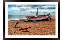 Aldeburgh Fishing Boat, Framed Mounted Print