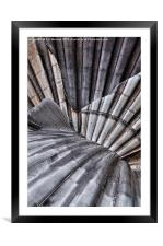 Aldeburgh Shell Abstract, Framed Mounted Print