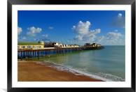Hastings Pier After The Fire, Framed Mounted Print