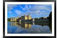 Leeds Castle, Framed Mounted Print