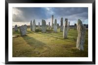 Callanish Standing Stones , Framed Mounted Print