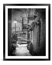 Bleak Midwinter 2, Framed Mounted Print