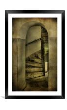 spiral staircase 2, Framed Mounted Print