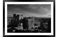 Raglan Castle - Wales, Framed Mounted Print