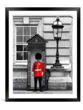 Buckingham Palace, Framed Mounted Print