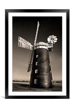 Pakenham Windmill, Framed Mounted Print