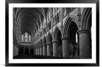 The Cathedral of St John The Baptist, Framed Mounted Print