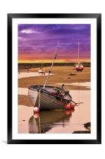 Tides Out, Framed Mounted Print
