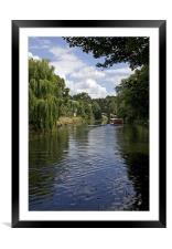 Norwich Riverside, Framed Mounted Print
