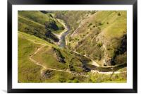Dovedale View, Framed Mounted Print