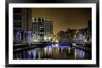Clarence Dock, Leeds, Framed Mounted Print