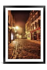 Whitby @ 4a.m., Framed Mounted Print
