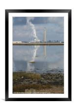 River Medway, Framed Mounted Print