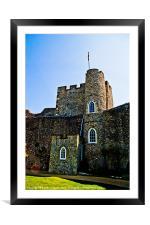 Lewes Castle, Framed Mounted Print