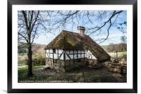 Pendine Farmhouse, Framed Mounted Print