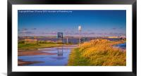 Riverside Country Park, Framed Mounted Print