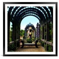 Arundel Garden Arch, Framed Mounted Print