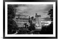 Arundel Castle, West Sussex, Framed Mounted Print