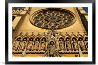 Arundel Cathedral Entrance, Framed Mounted Print