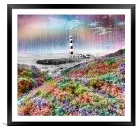 The Lighthouse, Framed Mounted Print