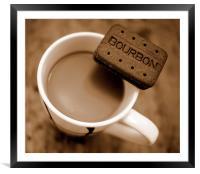 Coffee Break!, Framed Mounted Print