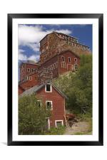 Kennicott mine , Framed Mounted Print