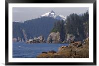 Resurrection Bay, Framed Mounted Print