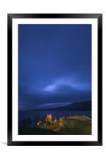 Urquhart Castle, Framed Mounted Print
