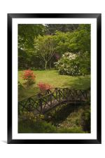 Armadale gardens, Framed Mounted Print