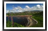 Scottish Coast, Framed Mounted Print