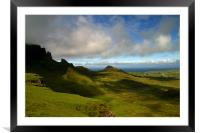 Quiraing, Framed Mounted Print