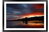 Eilean Donan Sunset , Framed Mounted Print