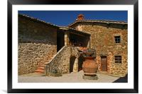 Toscana Winery, Framed Mounted Print