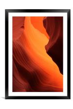 Antelope Canyon, Framed Mounted Print