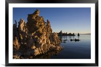 Mono Lake Sunrise II , Framed Mounted Print