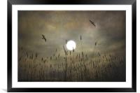 LOVERS MOON, Framed Mounted Print