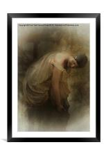 BATHING IN THE STREAM, Framed Mounted Print