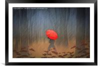 When The Rain Comes, Framed Mounted Print