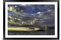 Mary After the Storm, Framed Mounted Print