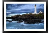 Corsewell Lighthouse, Framed Mounted Print